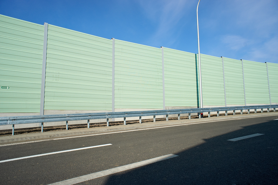 Use Of Outdoor Noise Barriers On The Rise Construction Specifier