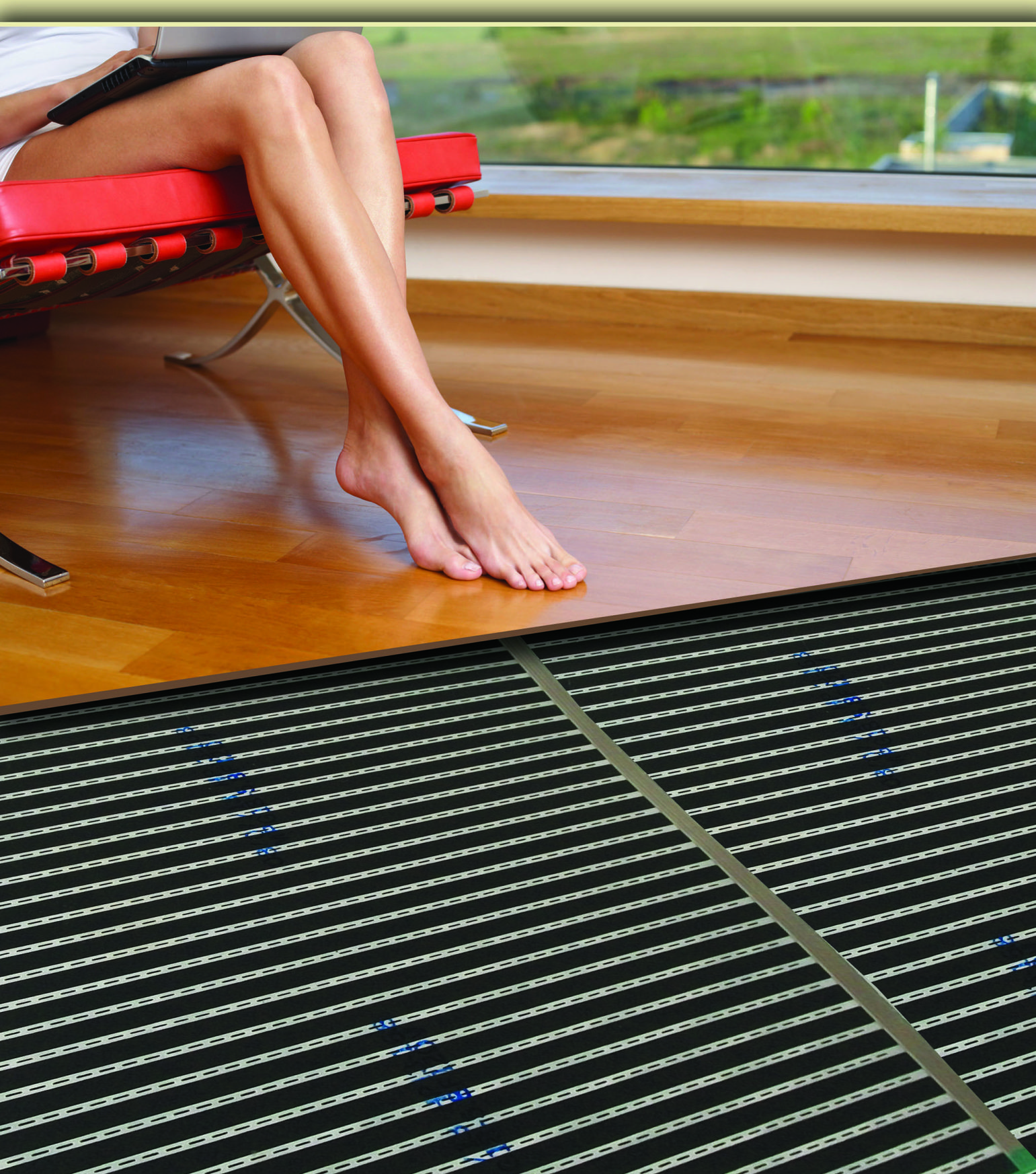MP Global Products ladies-barefeet-on-floor-FILMunder radiant heat