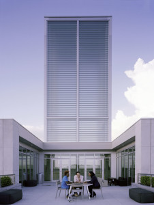 Small-missile impact-resistant channel glass serves as a beacon for the Savannah College of Art and Design (SCAD) Museum of Art while providing critical impact protection.