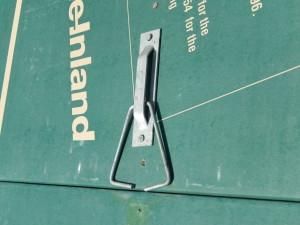 Adjustable anchor.