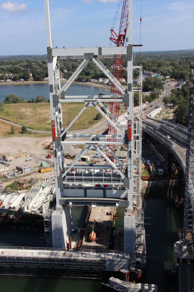A look at Weymouth Fore River bridge replacement project in Massachusetts. Photo courtesy Robert Connors