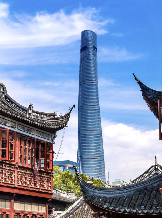 Chinas Shanghai Tower Achieves Leed Platinum Certification