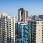 """Non-residential construction spending will continue to rise in 2016 and 2017 with a more than eight percent gain this year and a 6.7 percent increase next, according to the American Institute of Architects' (AIA's) """"Consensus Construction Forecast.""""  Photo © Bigstock.com/ Eugene Sergeev"""