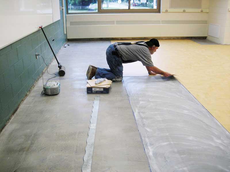 Dry Concrete For Moisture Sensitive Floorcoverings