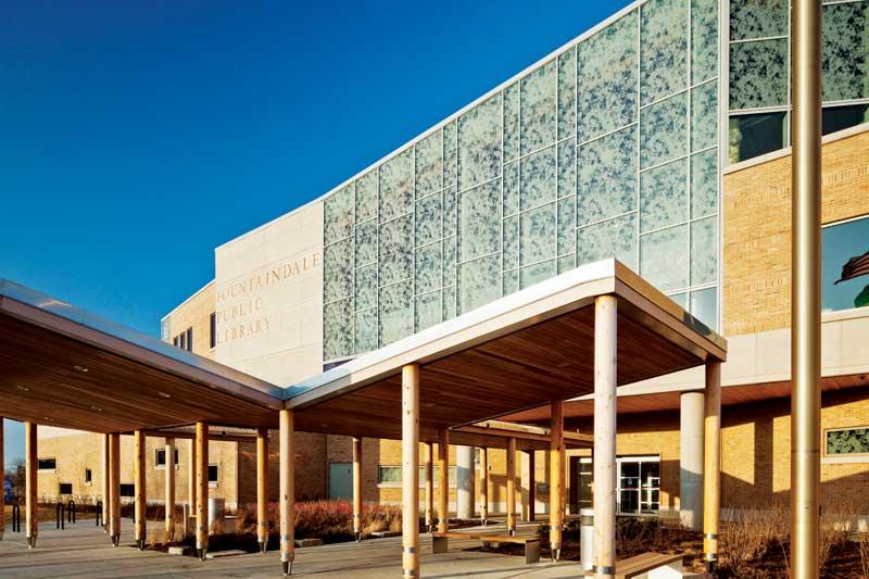 curtainwalls_Fountaindale-Public-Library---Courtesy-TGP