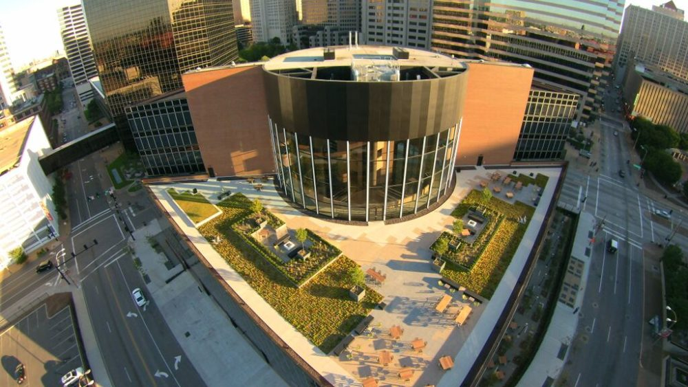 Grass Is Greener Atop St Louis Building Construction