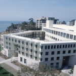 Located at the University of California (UC) Santa Barbara, Donald Bren School of Environmental Science & Management's laboratory building was certified Platinum under LEED. Photo© Payam Rahimian, Photo courtesy Wausau Window and Wall Systems.