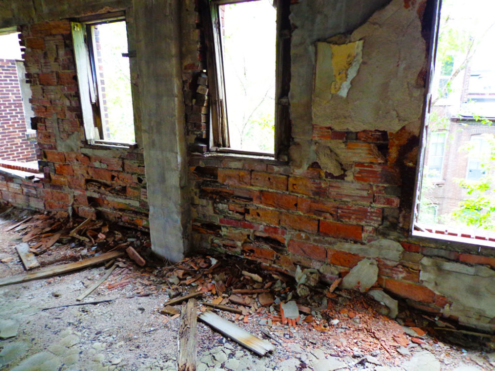 Interior Wall Construction : Restoring freedom a masonry building s rebirth brick by