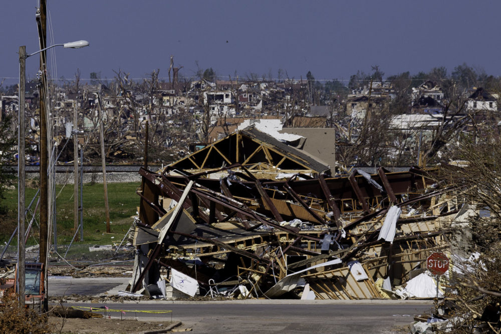 The May 22nd EF-5 tornado torn a path through Joplin Mo seven miles long and 1/2 mile wide. FEMA is in the city to administer assistance to the disaster survivors.