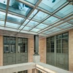 Specifying fire-rated glass floors can offer numerous advantages in both form and function. The topic is part of a new e-book on specialty glazing. Photo courtesy Technical Glass Products