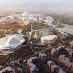 Adrian Smith + Gordon Gill Architecture's design for the Astana Expo City 2017 earned an award in the stellar design category for this year's American Institute of Architects (AIA) Innovation Award. Image © Adrian Smith + Gordon Gill Architecture