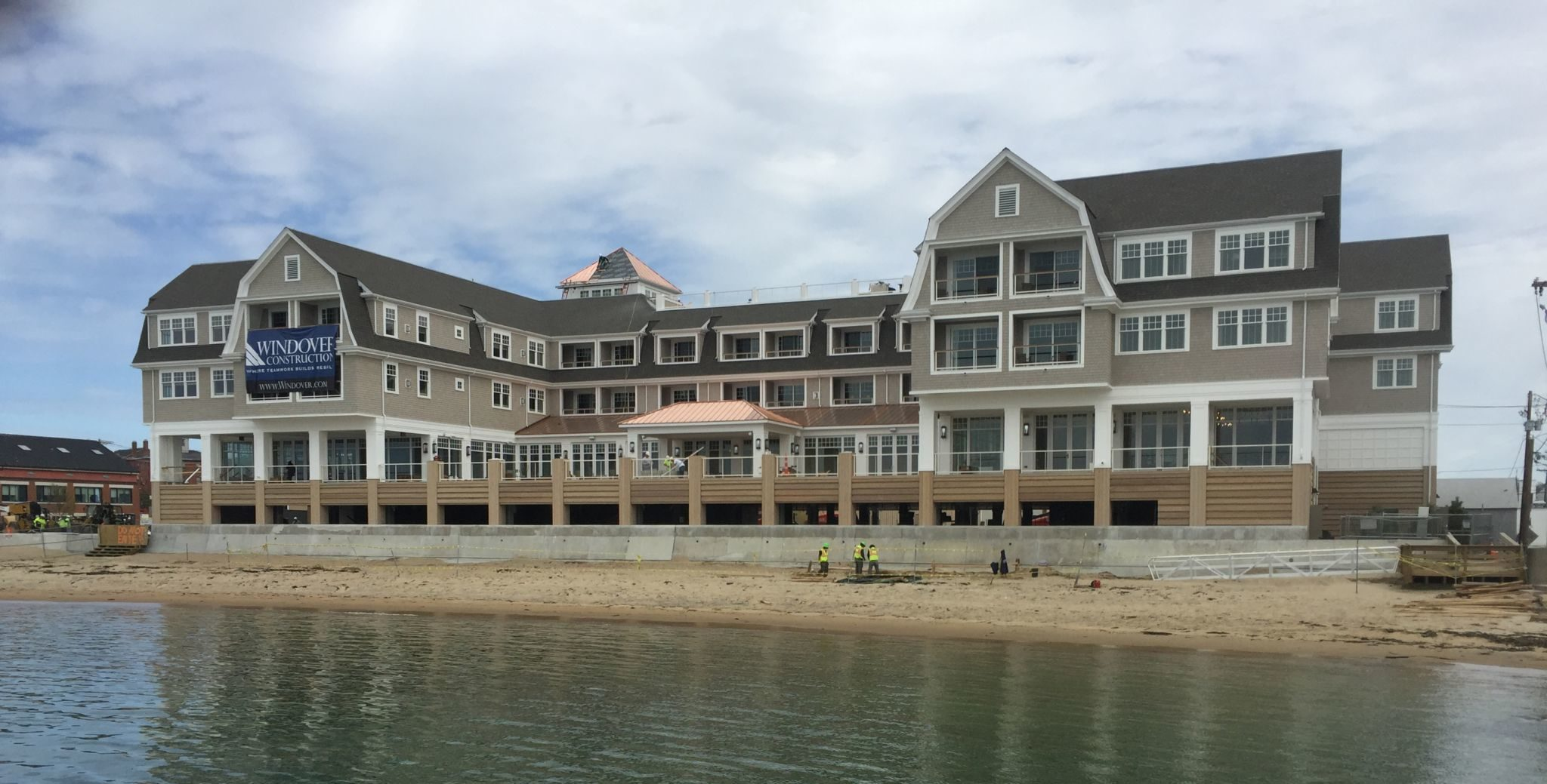 Construction of the Beauport Hotel in Gloucester, Massachusetts was led by construction management firm Windover Construction. Photos courtesy Peter Vanderwarker