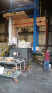 Project-specific tests for beam exterior column connections, cross-laminated timber (CLT) deck-to-beam connection, penetrations fire resistance, and wall fire resistance were conducted at a Texas facility.