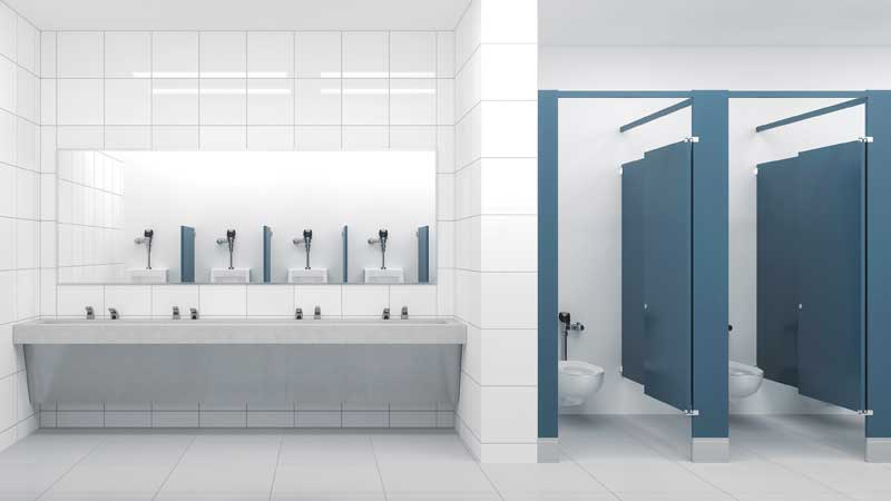How Water And The Human Factor Influence Restroom Design