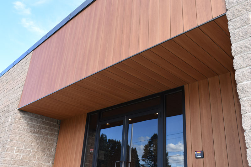 Modernization and minimal maintenance with exterior cladding - Construction Specifier