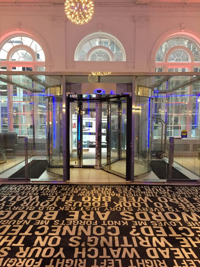 Philadelphiau0027s Warwick Hotel Rittenhouse Square has been renovated to incorporate both revolving and sliding doors in its entrance solving issues of ... & Opening the door to thermal comfort - Construction Specifier