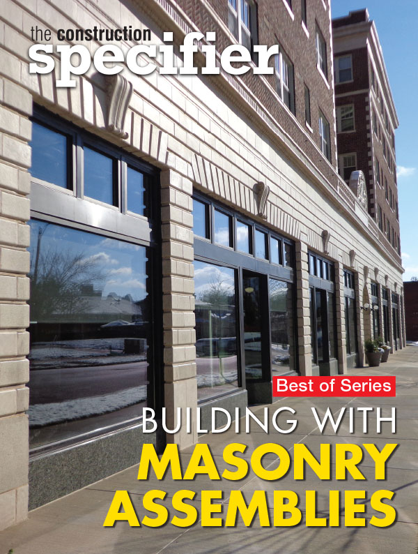 Download Our New Masonry E Book For Free Construction Specifier
