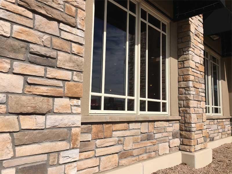 Adhered Manufactured Stone Veneer Manufacturing