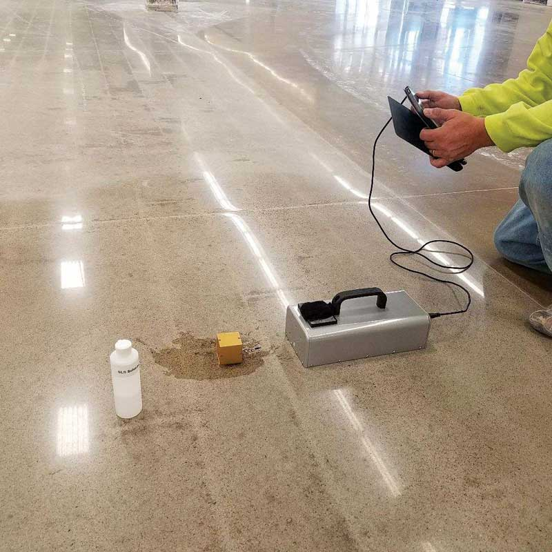 Ensuring Safe Walking Surfaces With Exposed Concrete Page Of - Coefficient of friction flooring