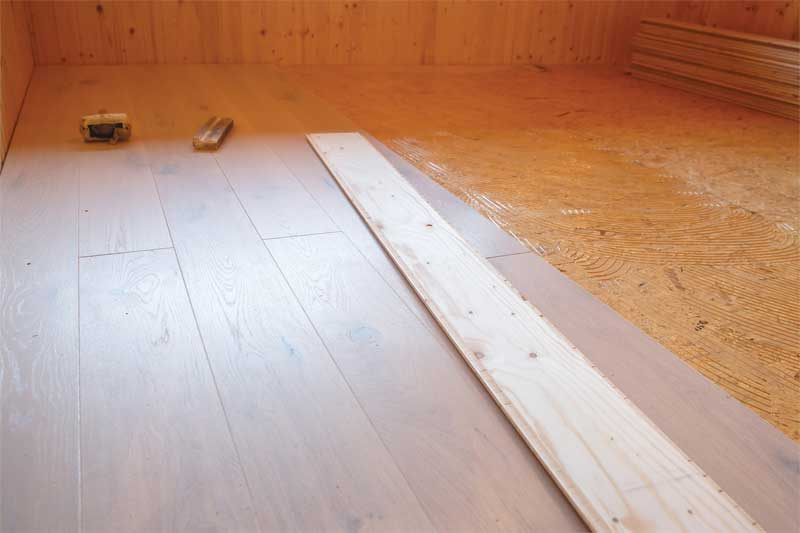 No Noise Is Good Noise All Wood Flooring Systems Reduce More Than