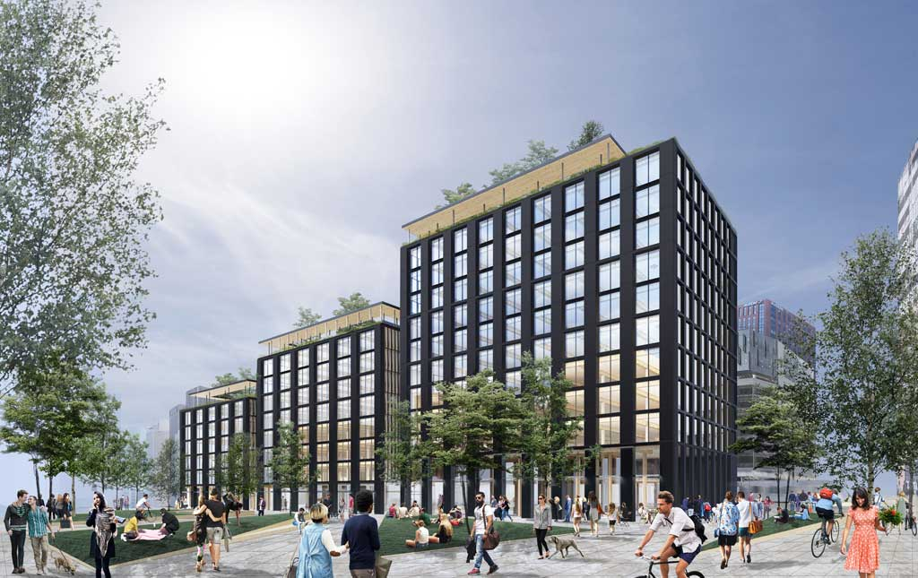 Developing the nation's largest timber office building ...
