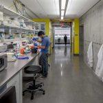 A laboratory at BSPB.