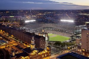 Oriole Park at Camden Yards is the fourth MLB facility to achieve LEED Gold certification. Photo by Ron Solomon, courtesy Populous