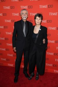 Elizabeth Diller attends the TIME 100 Gala with partner Ricardo Scofidio. Photo courtesy DS+R