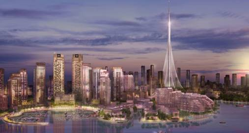 Florida's Rex Nichols Architects has been selected to design the façades of 10 buildings at Dubai Creek Harbor. Photo courtesy RNA