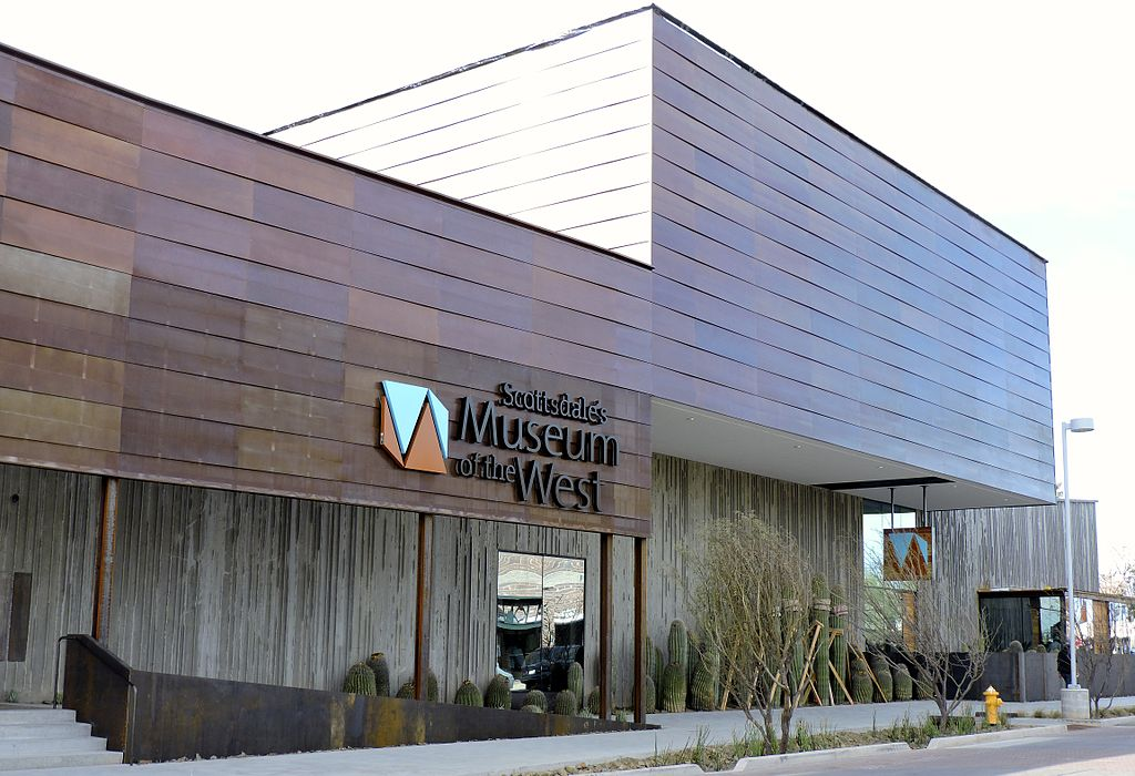 Scottsdale's Museum of the West received the Green Building Legacy Award from the U.S. Green Building Council (USGBA) Arizona. Photo © PamMcP. Photo courtesy Wikimedia Commons