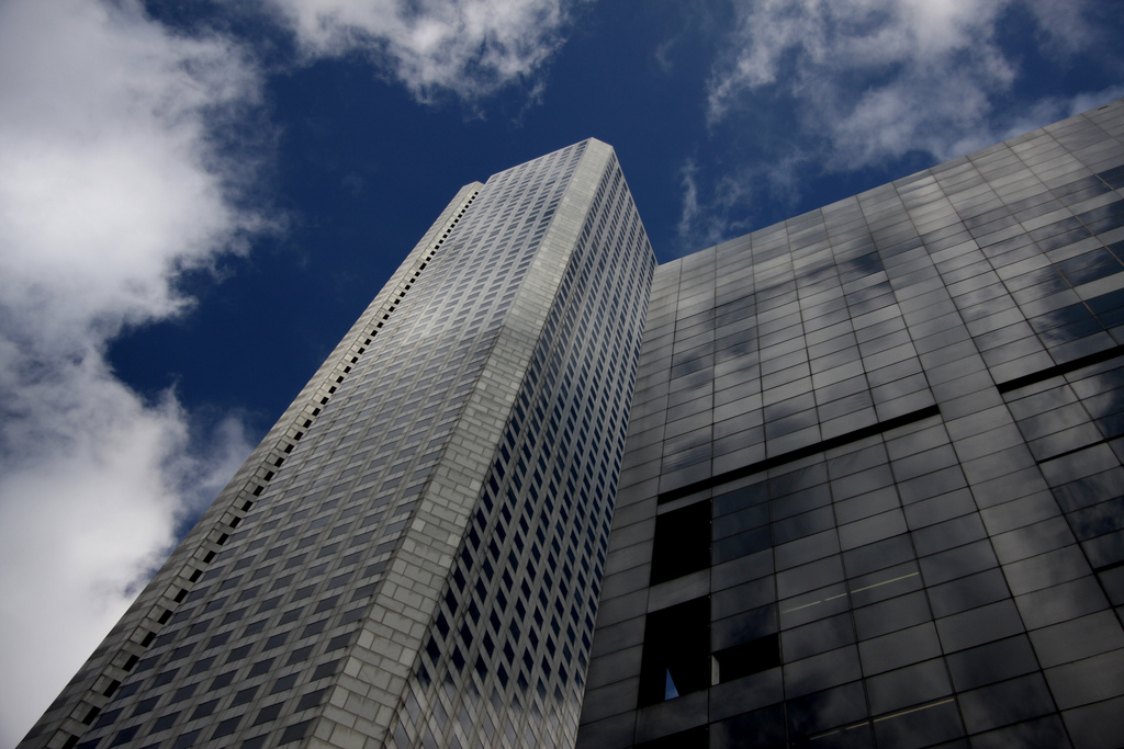 At 215.5 m, JPMorgan Chase Tower is thought to be the tallest building in the world to be peacefully demolished. Photo by eflon, courtesy Flickr