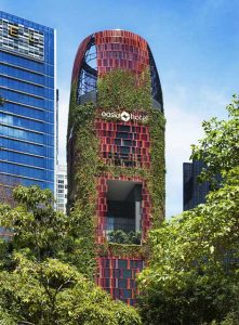 Oasia Downtown Hotel received the award for Best Tall Building Worldwide. Photo by Patrick Bingham-Hall