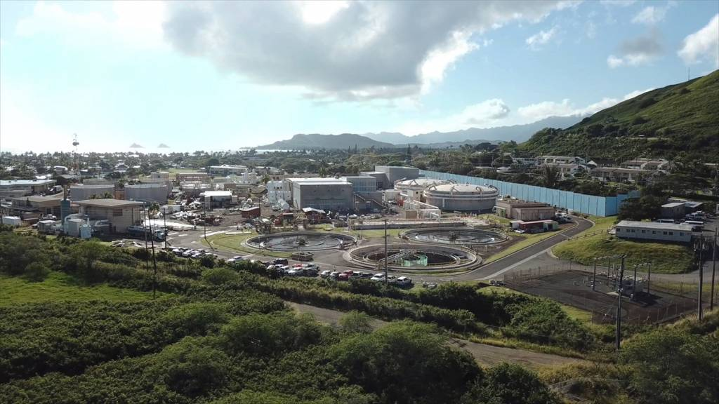The Kaneohe-Kailua Wastewater Conveyance and Treatment Facilities Project is reportedly the largest wastewater system upgrade in Hawaii's history. Photos courtesy Brown and Caldwell