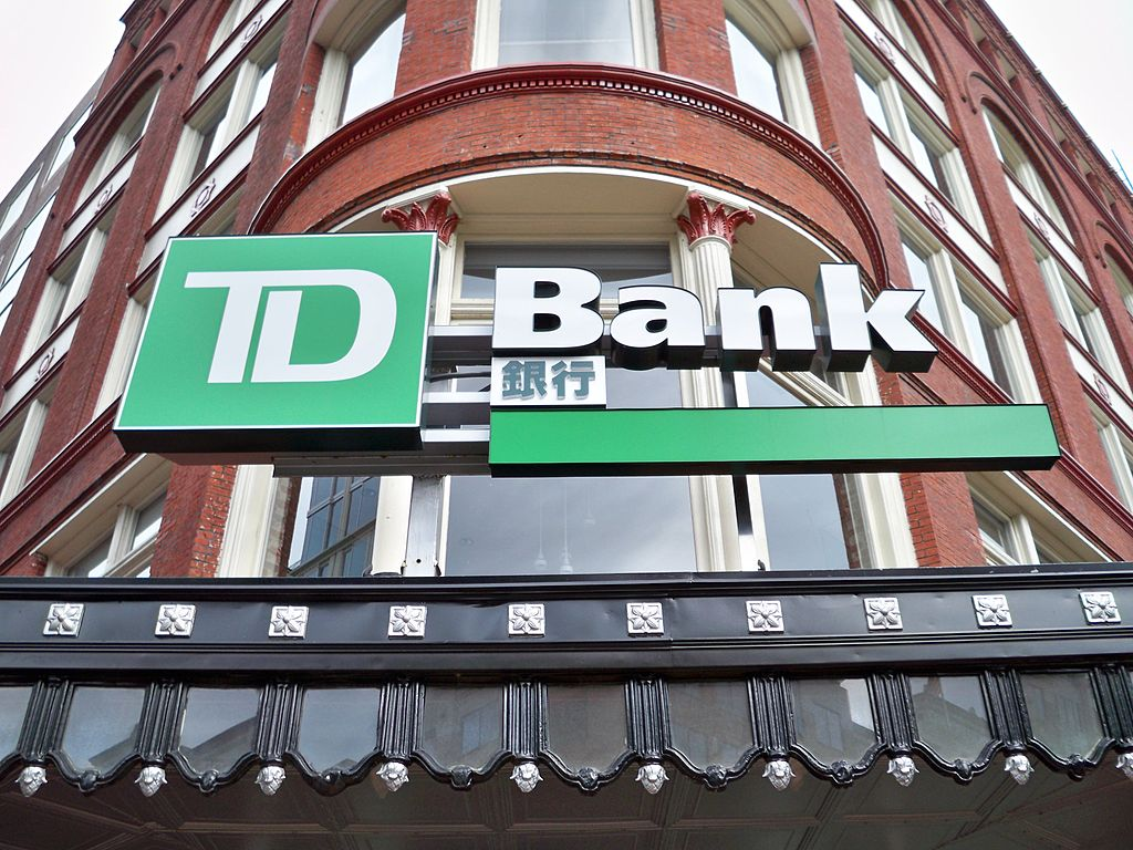 Two hundred TD Bank locations have achieved Leadership in Energy and Environmental Design certification. Photo © MBisanz. Photo courtesy Wikimedia Commons