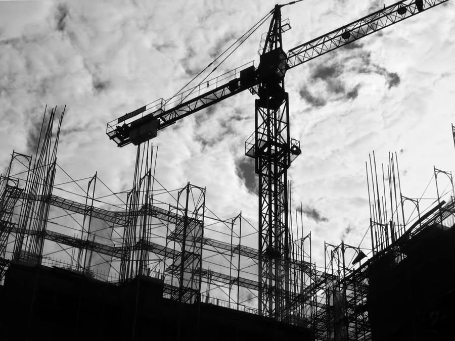 New construction starts in June increased 11 percent, including a 57 percent advance for nonresidential building, reports Dodge Data & Analytics. <br>Photo © BigStockPhoto.com