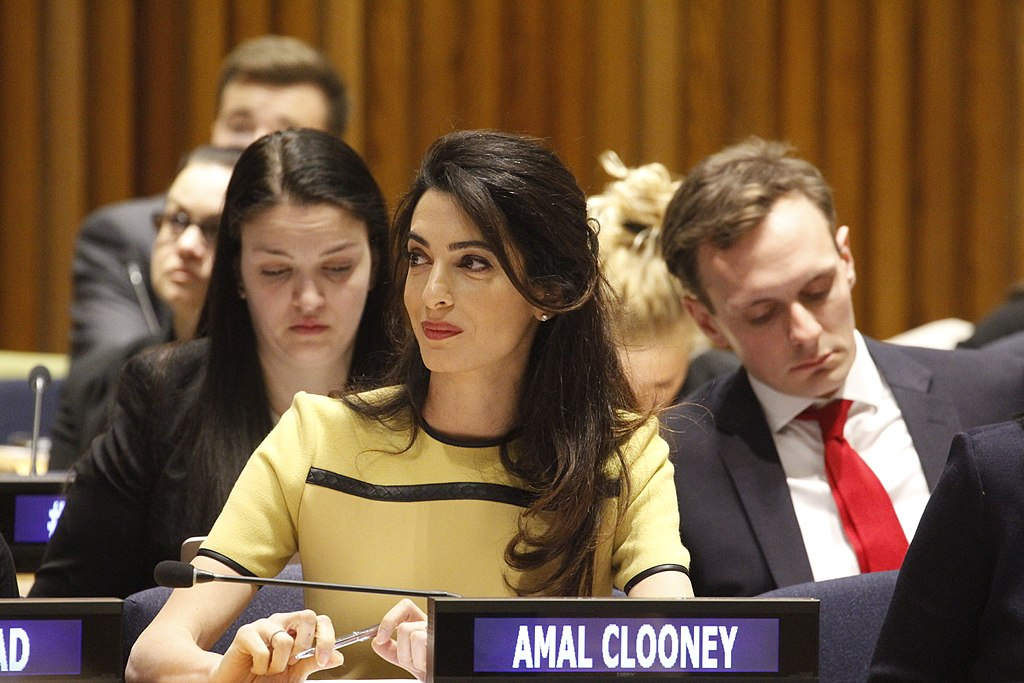 Amal Clooney will deliver the opening keynote remarks at this year's Greenbuild International Conference and Expo in Chicago. Photo © Mojackjutaily/WikiMedia Commons