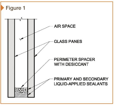 When is insulating glass fogging not considered failure