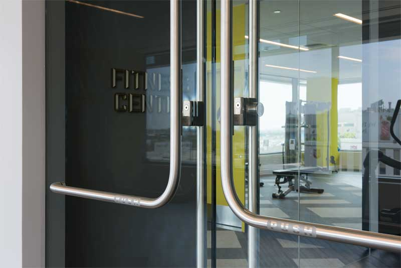 Panic Devices For Glass Entrances Overcoming Design And