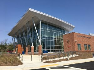 The project team of a new culinary arts center at Prince George's Community College in Largo, Maryland, used 3D modeling to create the best design with insulated metal panels. Photos courtesy Kingspan