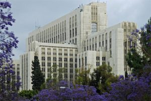 Los Angeles County to study the feasibility of re-adapting the former general hospital into affordable housing. Photo courtesy Hilda L. Solis