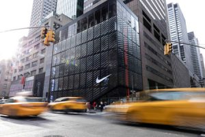 Nike's flagship store aims to bring together innovation and digital transformation. Photo courtesy Nike