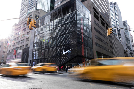 5be972fd11d6 Nike s flagship store aims to bring together innovation and digital  transformation. Photo courtesy Nike
