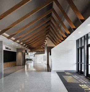 The result of approximately four years of planning and construction at Uniondale, New York's Nassau Veterans Memorial Coliseum is a modern, airy, and inviting space.