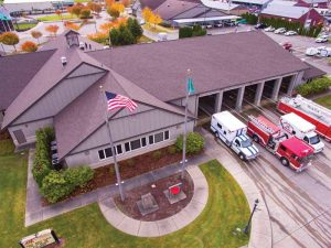 The Burlington Fire Department in Washington needed a roofing system resistant to algae formation and high winds, so a new asphalt shingle assembly was selected. This project earned ARMA's QARC Bronze Award. Photo © Jarod Trow Photography