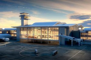 Los Angeles International Airport (LAX) will get an international concourse expansion, expected to be completed in 2020. Photo courtesy Atlas Roofing Corporation