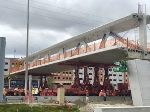 An investigative update by the National Transportation Safety Board (NTSB) says errors were made in the design of the Miami pedestrian bridge that collapsed in March 2018. Photo courtesy Photo courtesy PRNewsfoto/FIU
