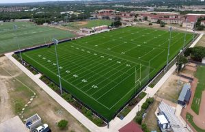 The University of Texas at San Antonio's (UTSA's) recreational field utilized a synthetic turf to help with durability, safety, and performance. Photo courtesy Astro Turf