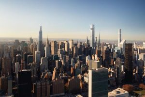 Designed by Gensler, New York City's Tower Fifth will be the city's second tallest building. Photo courtesy Gensler