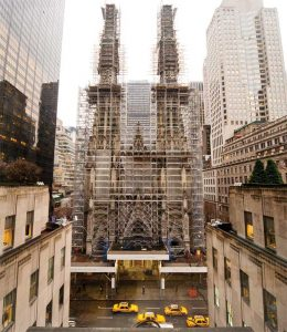 The extensive recent restoration of New York City's landmark St. Patrick's Cathedral, led by Murphy Burnham & Buttrick Architects (MBB), focused on stabilizing the structure and creating a better experience for clergy, visitors, and worshippers. Photo © Chris La Putt