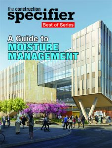 The magazine's series of sponsored e-books continues with an exploration of the different technologies available in the market to waterproof buildings.